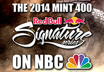 The Mint 400 Joins the Red Bull Signa