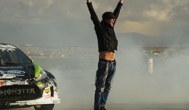 Ken Block and Tommy Lee at Willow Springs Mad Media Photography