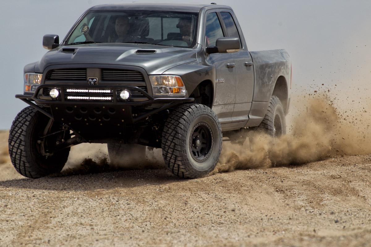 Ford Shelby Truck >> Duel in the Desert: Ford SVT Raptor vs. Mopar Ram Runner | MadMedia