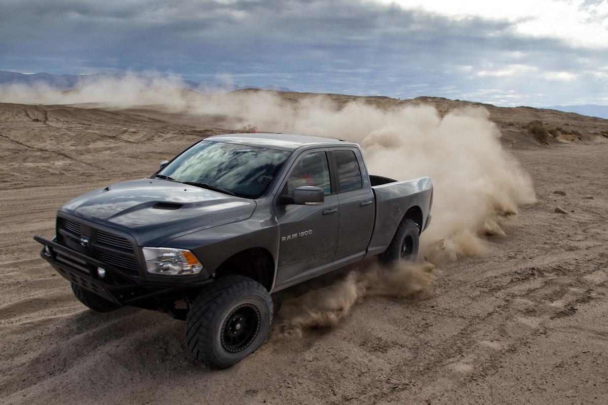 Duel In The Desert Ford Svt Raptor Vs Mopar Ram Runner