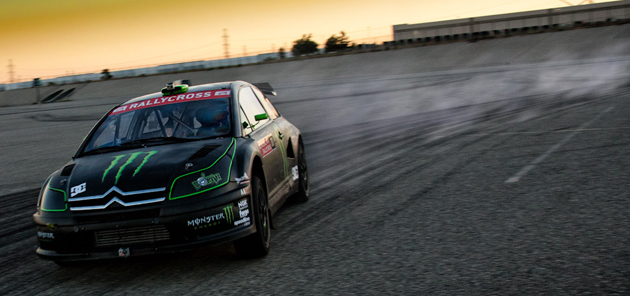 Liam Doran X-Games Rallycross