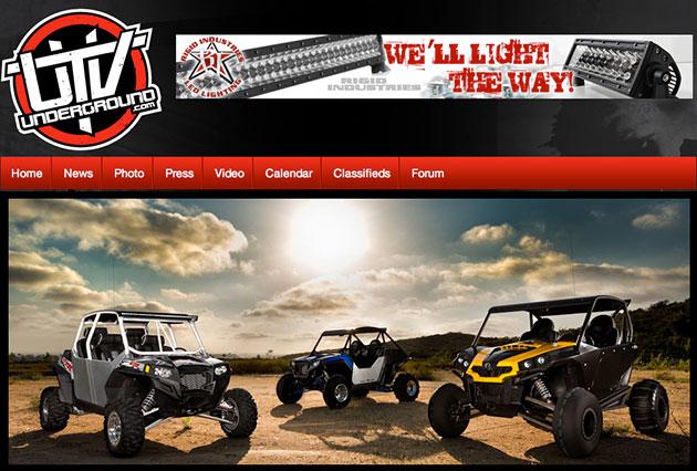 UTVUnderground.com Homepage