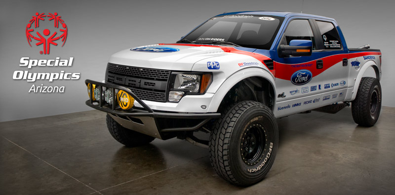 Arizona Special Olympics Roughrider Raptor Up For Auction