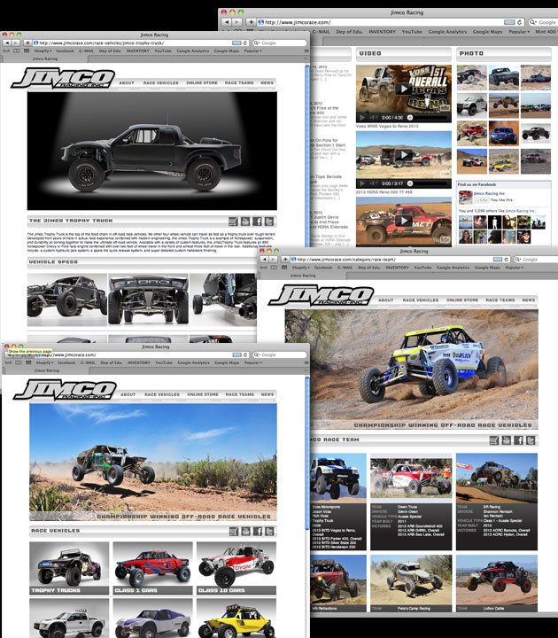 Jimco Racing Website