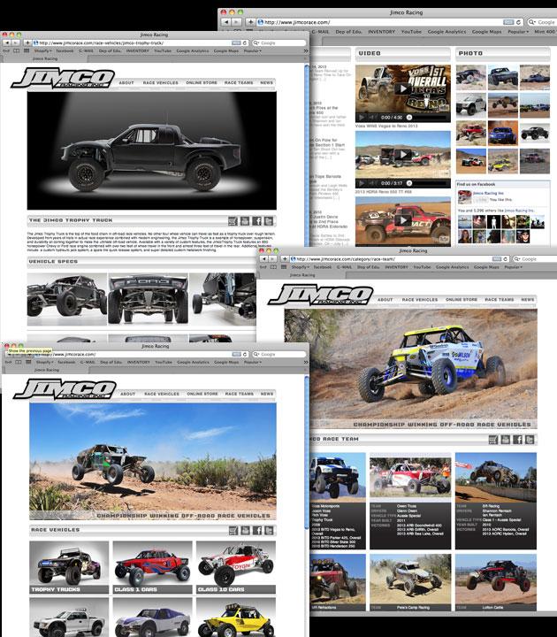 Jimco Racing Website