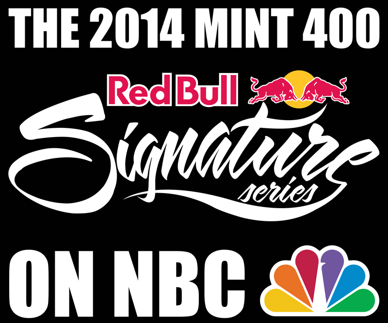 Mint 400 Red Bull Signature Series