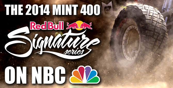 Mint 400 Red Bull Signature Series
