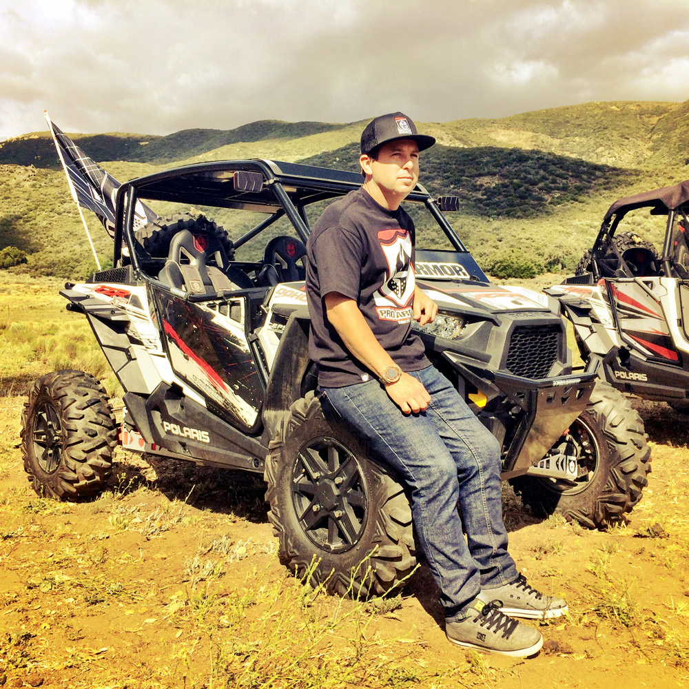 Jeremy McGrath Polaris UTV