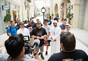 Mad Media Filming in Dubai