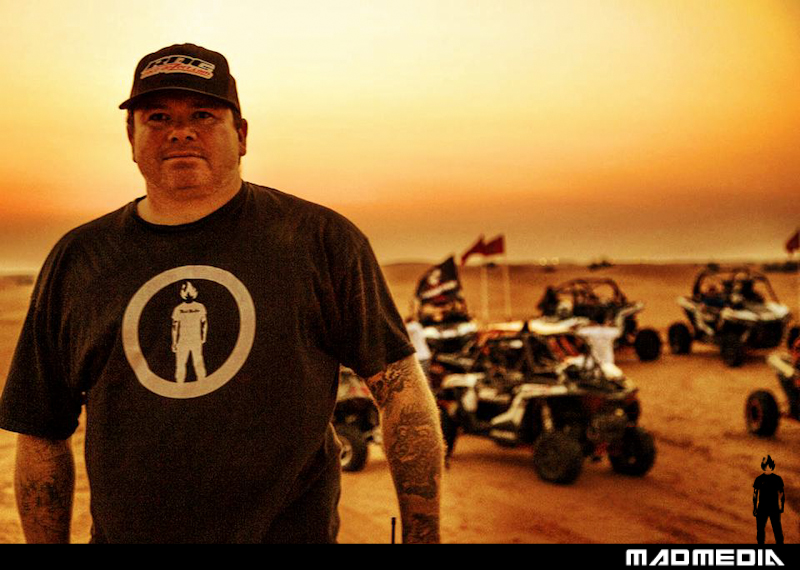 Matt Martelli in Dubai