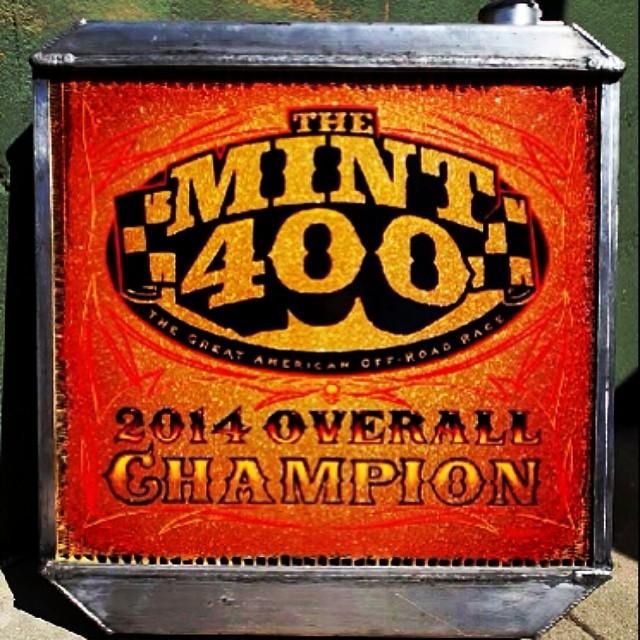 Mint 400 Trophy