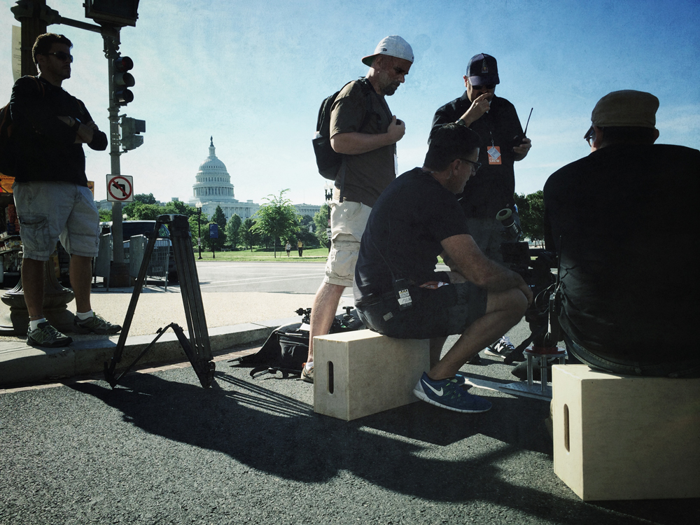Mad Media Filming in Washington DC