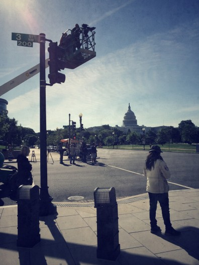 Mad Media Filming Capitol Building