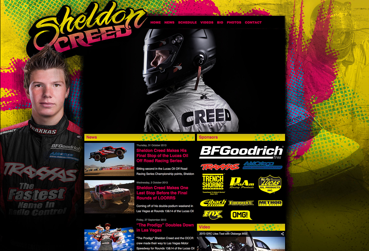 Sheldon-Creed-website