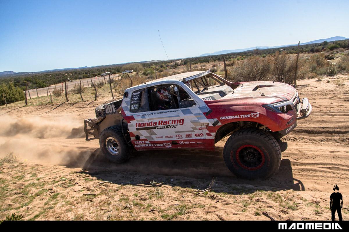 Honda Ridgeline Off Road >> Honda Ridgeline Baja Race Truck Conquers the Baja 1000 ...