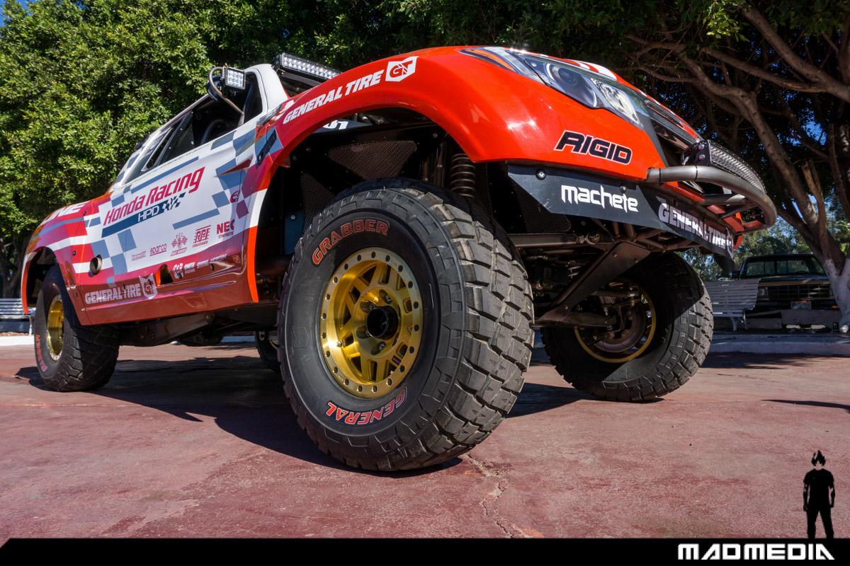 Honda Ridgeline Baja Race Truck Conquers the Baja 1000 ...