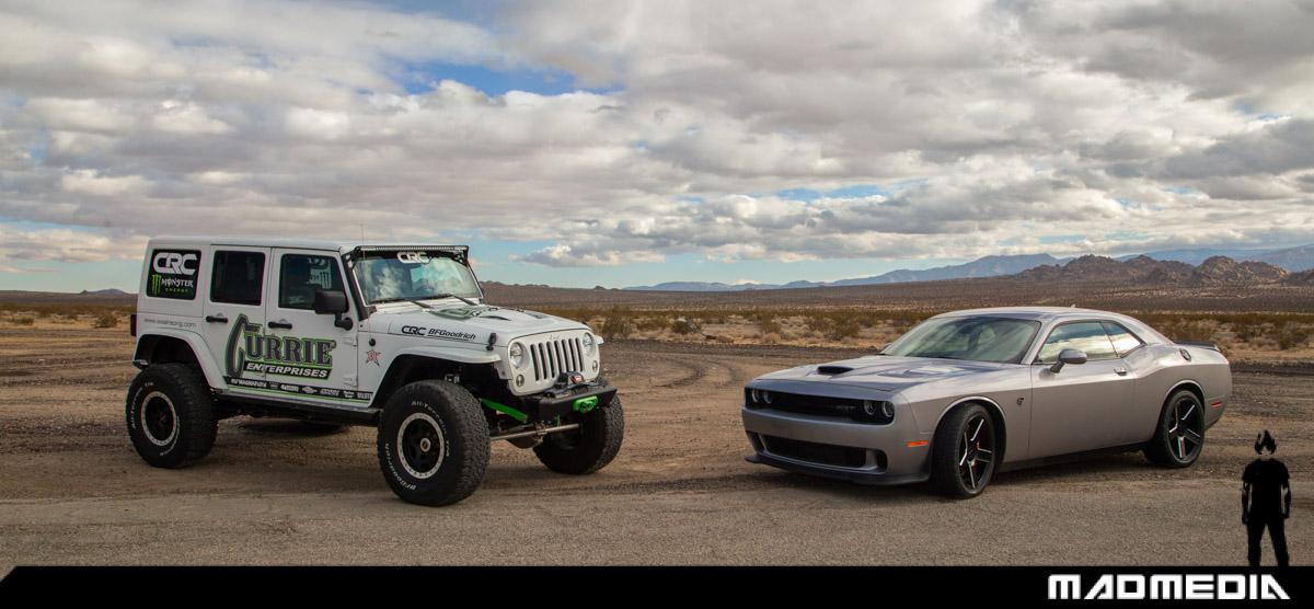 Casey Currie | Dodge Challenger Hellcat | BFGoodrich Ride Swap