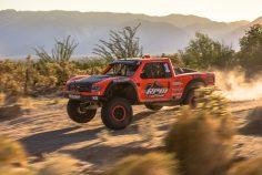 Apdali Lopez Trophy Truck Testing