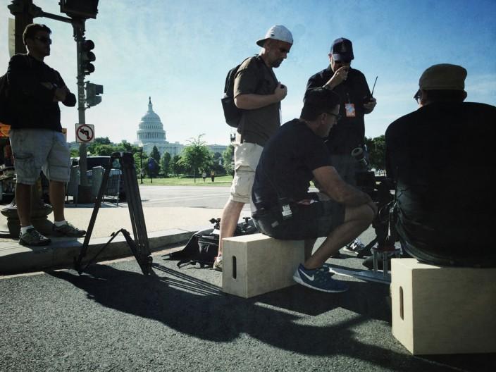 Mad Media Filming in Washington DC