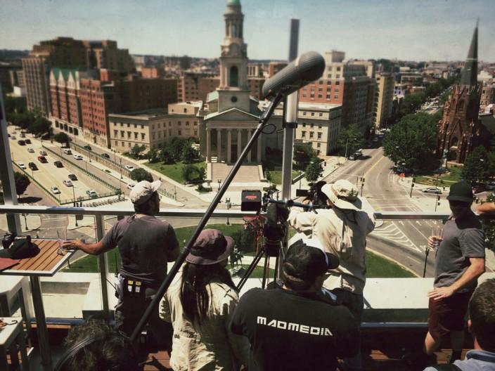 Mad Media Thomas Circle Filming